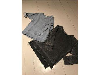 Zara hm klädpaket sweatshirts ljusblå grå baby - Umeå - Zara hm klädpaket sweatshirts ljusblå grå baby - Umeå