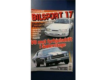 Bilsport nr 17 2001: Chevrolet Chevelle SS, Ford Sierra Cosworth, Volvo 760/960 - Uppsala - Bilsport nr 17 2001: Chevrolet Chevelle SS, Ford Sierra Cosworth, Volvo 760/960 - Uppsala