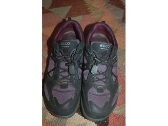 Super skick! ECCO svart lila rejäl gympa sko vandrings sko walking 37 - Nyhamnsläge - Super skick! ECCO svart lila rejäl gympa sko vandrings sko walking 37 - Nyhamnsläge