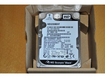 Western Digital Scorpio Black WD3200BEKT 320GB