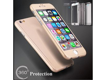 iPhone 6/6s Ultra Thin 360° Skydd Skal-Guld