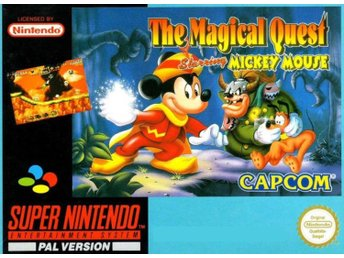 Magical Quest Starring Mickey Mouse - SCN - Super Nintendo