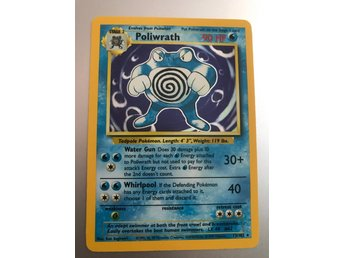Pokemon Poliwrath 90 HP 13/102 holo rare