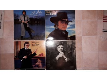 JOHNNY CASH LP 4st - RAINBOW Adventures of THE BARON Gone girl, 70-80-tal