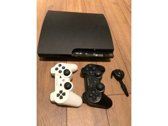 Playstation 3 - Ps3 - inklusive 2 handkontroller