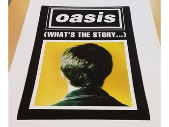 OASIS WHATS THE STORY MORNING GLORY 1995 POSTER