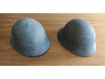 2st Hjälmar Militär M26 L.I Civilförsvaret 85bdf106de178