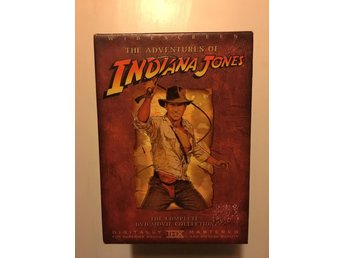 Indiana Jones äventyr/4-disc box/Widescreen/Harrison Ford/Sean Connery