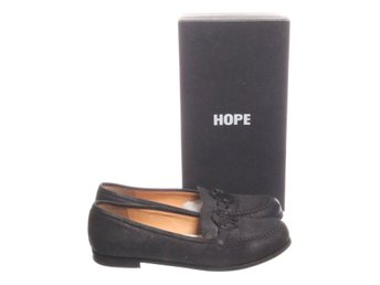 HOPE by Ringstrand Söderberg, Loafers, Strl: 39, Soft monk shoe, Svart