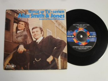 "TEMAT UR TV-SERIEN ALIAS SMITH & JONES (MCA 7"" 1972 Sverige)"