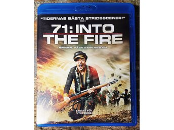 71: Into the Fire (BluRay) (HYRKOPIA - SKIVAN I NYSKICK)