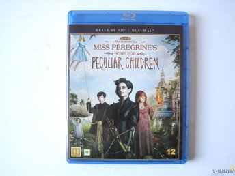 Miss Peregrine's home for Peculiar Children, 2 disk 3D plus Blu-ray