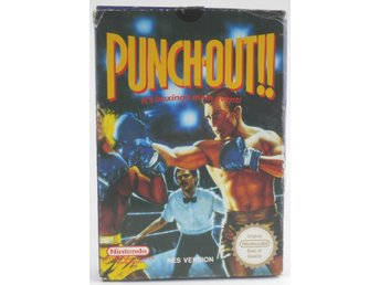 EMPTY BOX - Punch-Out!! (manual + box only, no game!) -