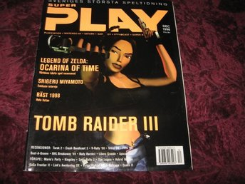 SUPER PLAY DECEMBER 1998 (TOMB RAIDER III)