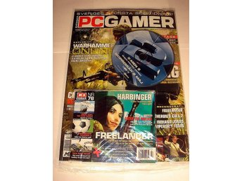 PC GAMER 76 NY 2 CD APRIL 2003  VIETCONG mm. I ORIGINALPLAST