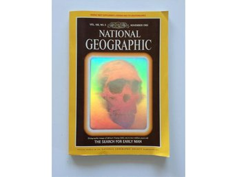 National Geographic vol. 168 no. 5 Nov 1985 English, Early man, Fossil...