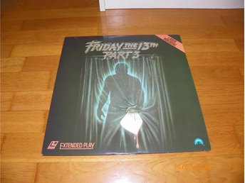 Friday the 13TH part 3 - 1st laserdisc