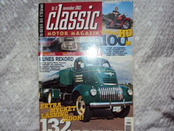Classic motormagasin2003 bl.a.Harley Davidsson special