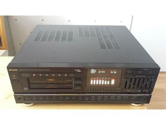 Sharp SA-CD800 Am/Fm Tuner 6 disc multi-play CD changer stereo receiver