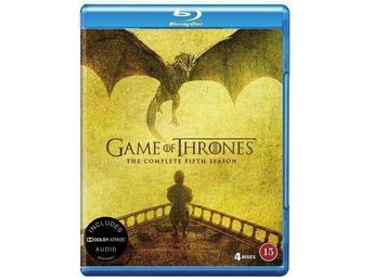 Game of Thrones - Säsong 5 (Blu-ray). Ny, inplastad!