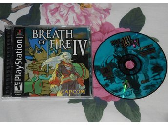 PlayStation/PS1: Breath of Fire IV 4 (repfritt, AMERIKANSKT)