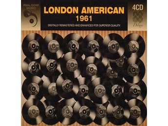 London American 1961 (Digi) (4 CD) Ord Pris 149 kr SALE
