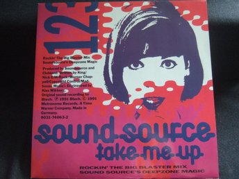 MAXI 12:A - SOUNDSOURCE. Take me up. 1991