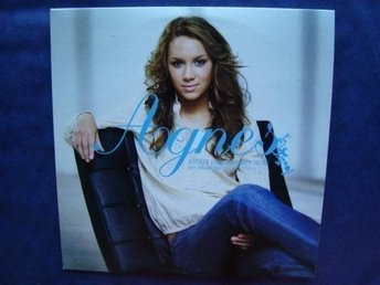 Agnes - Right here right now (debutsingel), 2tr CDS - Ny!
