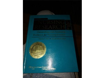 Nursing research, ninth edition, Polit and Beck