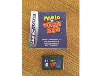 Gameboy Advance Mario vs Donkey Kong