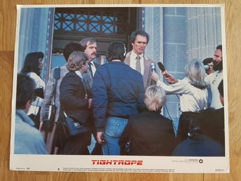 TIGHTROPE -Original Lobby Card #8- CLINT EASTWOOD-1984