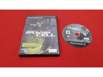 SPLINTER CELL till Sony Playstation 2 PS2