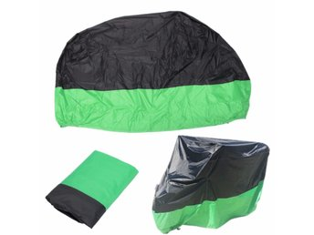 Motorcycle Waterproof Cover Scooter Rain Dust Cover Green...