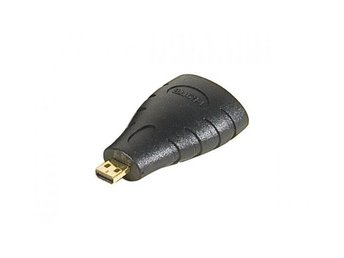 EXC HDMI A Female to micro HDMI Male Adapter gold