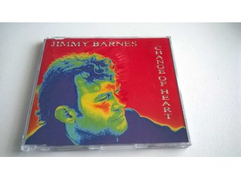 Jimmy Barnes - Change Of Heart, single, CD