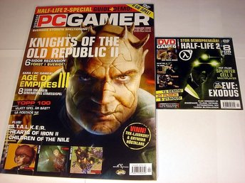 PC GAMER  Nr98 HELT NY m DVD  FEB 2005  AGES OF EMPIRE mm.