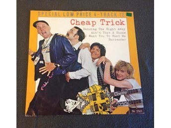 "CHEAP TRICK - Dancing The Night Away (Special Low Price 4-Track 12"")"