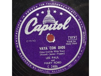 Capitol C 2486 - Les Paul / Mary Ford