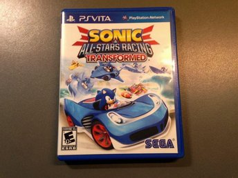 Sonic all-stars racing (Ps vita)