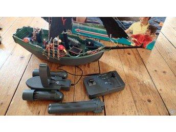 Playmobil piratskepp med motor - Julita - Playmobil piratskepp med motor - Julita