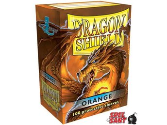 Dragon Shield Protective Sleeves Standard Orange 100 Pack