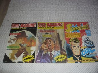 3 st Serie Magasinet specialalbum ,  special 70 & 80 tal