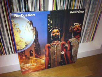 Per Cussion - Don't Stop LP 1983 (Dag Vag)