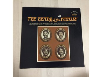 THE HEADS OF THE FAMILY PLAY AND SING. (LP)