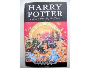 HARRY POTTER AND THE DEATHLY HALLOWS J.K. Rowling 1:a upplaga