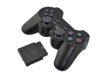 PS2 - 2.4GHZ Wireless Dual Shock Controller