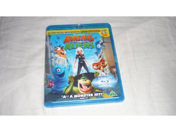 Blu-ray - Monsters vs aliens - Svenskt tal