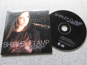 Shirley Clamp - Mr Memory CD Singel (pappfodral)
