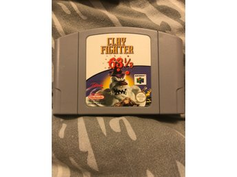 N64 Clayfighter 63 1/3