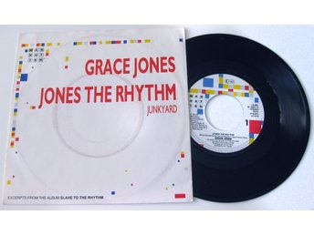 "Grace Jones - Jones The Rhythm 7""  / NM"